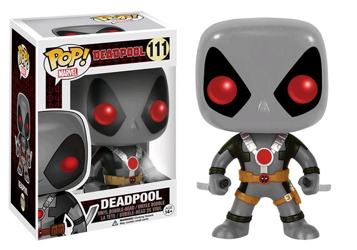 Deadpool X Force Exclusive Pop Vinyl Figure Popbot