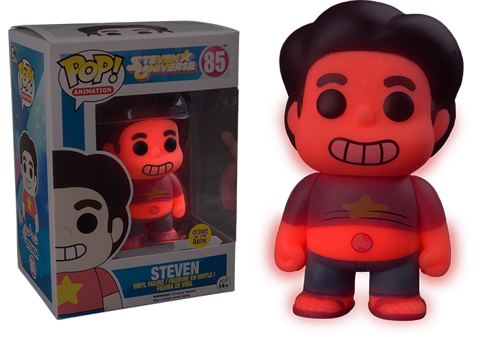 Toys From Hot Topic : Steven universe glow us exclusive pop vinyl