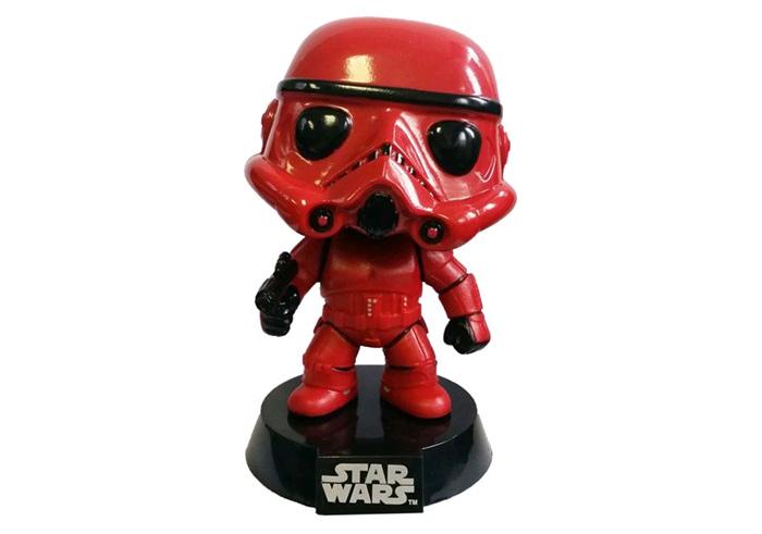 Star Wars Red Stormtrooper Exclusive Pop Vinyl Popbot